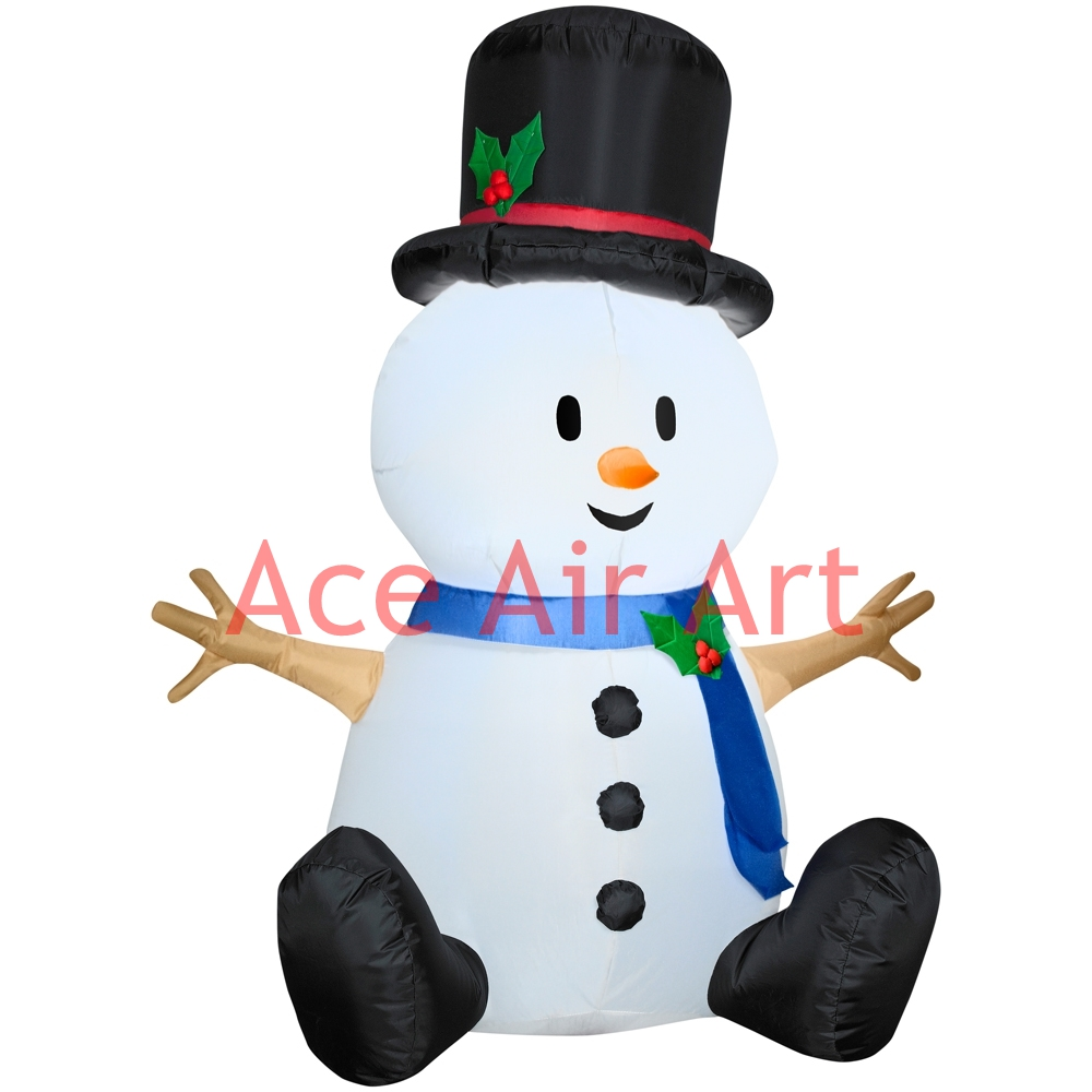 Inflatable christmas decorations outdoor cheap - Cute 2mh Inflatable Outdoor Christmas Decoration Inflatable Christmas Snowman