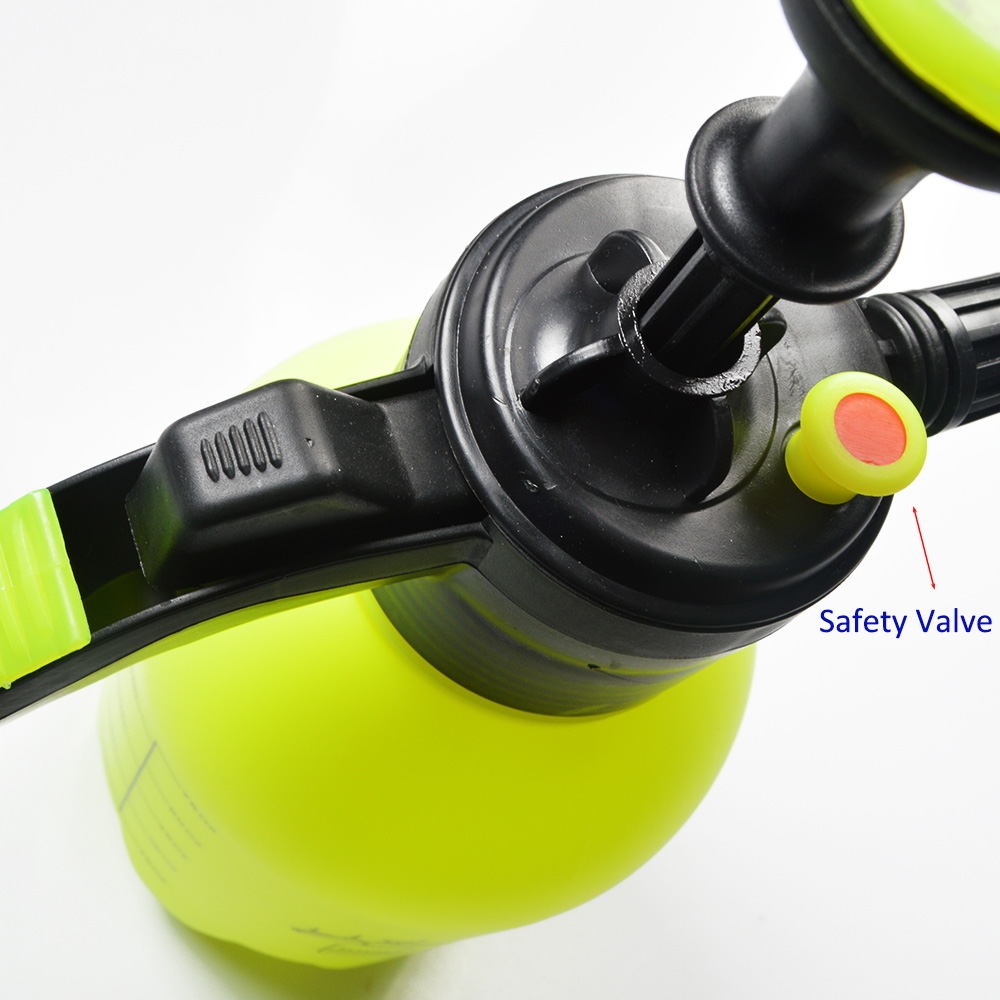 Image 3 - Hand Pressurized Foam Sprayer 2 Litre Hand Pressure Foam Cannon Snow Foam Nozzle for carwash car window cleaning-in Water Gun & Snow Foam Lance from Automobiles & Motorcycles