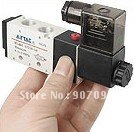 Free Shipping DC24V 5 Way 2 Position Electric Solenoid Valve 4V210-08 Airtac Solenoid Valves 5 pcs In 1 Lot