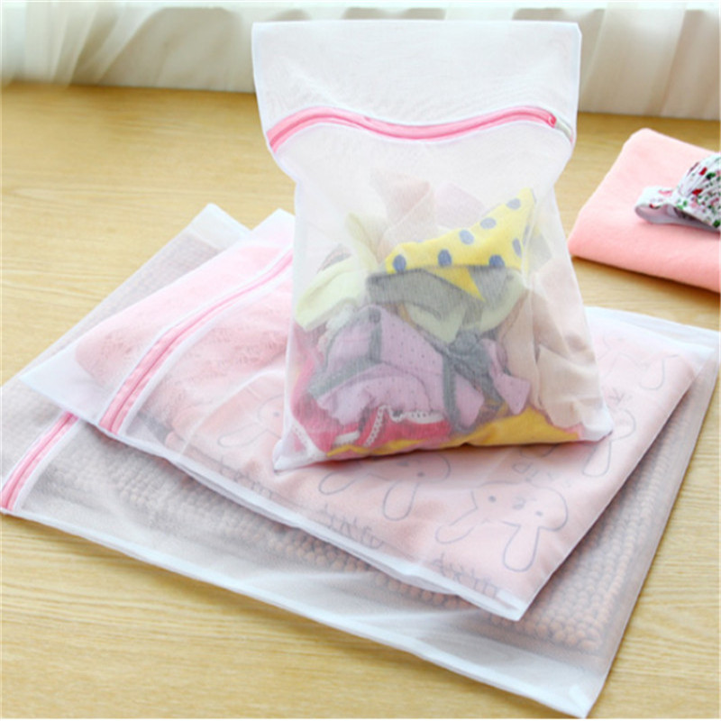 3Pcs/set Bra Underwear Laundry Baskets Mesh Bag Clothes Cleaning Tools Random Color