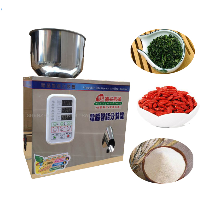 1-25g Tea Weighing and Packing Machine 110V/220V Automatic Measurement of Particle Bag Tea Packaging Machine packaging machine of bagging tea full automatic measuring packing tea granule powder medicine dispenser sealing machine