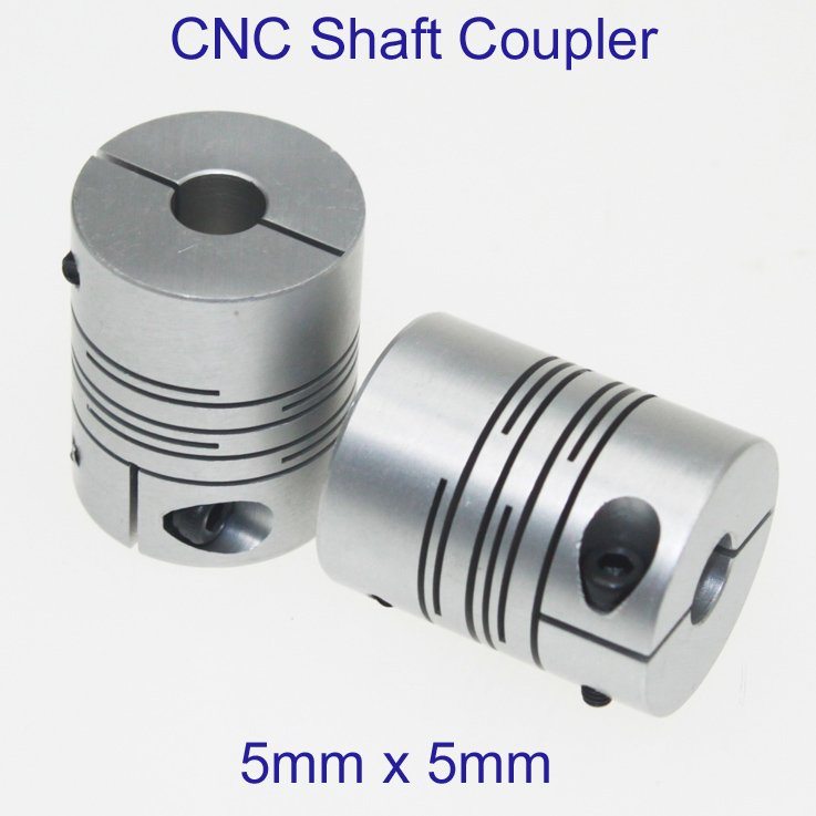A216a 5pcs Lot 5x5mm Cnc Motor Jaw Shaft Coupler 5mm To