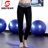 2016 New Design Tight Fitted SUPPLEX High Quality Women Fitness Compression Running Tights Leggings Jogging Workout
