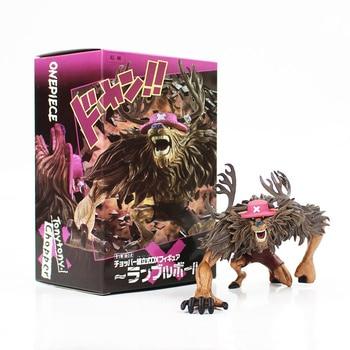 9 см аниме одна деталь Тони Чоппер изменить огромный фигурка модель игрушечная обезьянка D Luffy