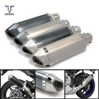 Motorbike exhaust muffler pipe db killer connector For HONDA CR CRF SL XR CRM 80 85 125 150 230 250 400 450 650 1000 dio x adv
