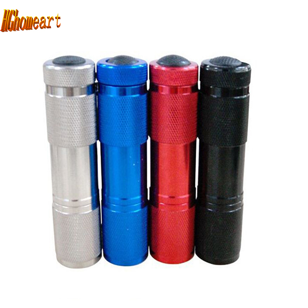 Light Aluminium Alloy Mini Flashlight Cree Led stainless Flashlight Torch High Power Led keychain With portable tail