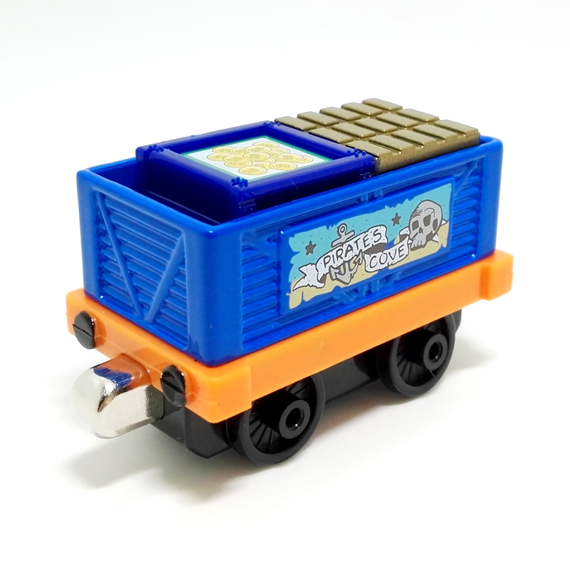 m007 Scarcity Edition Thomas and friend diecast magnetic alloy Children's toy train sodor Pirate gold transport trucks