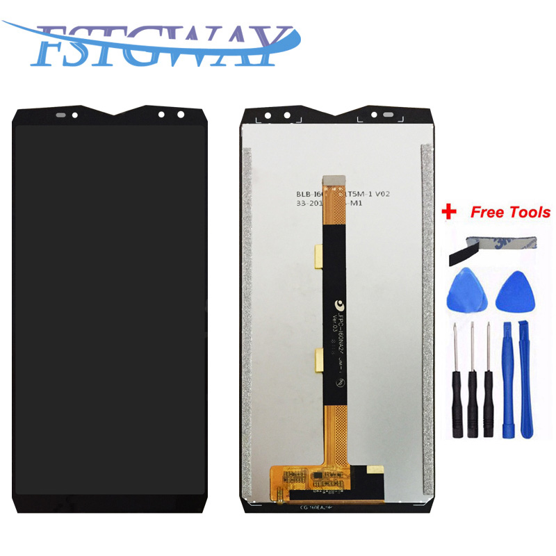 FSTGWAY For <font><b>Ulefone</b></font> <font><b>Power</b></font> <font><b>5</b></font> LCD Display and Touch <font><b>Screen</b></font> Digitizer Assembly Phone Replacement +Tools For <font><b>Ulefone</b></font> <font><b>Power</b></font> <font><b>5</b></font> image