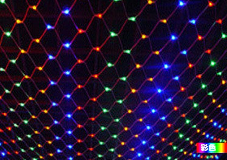 2x2 m 8 flash modes 220v super bright led net string light christmas new year lights