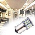 1 unids/lote 50led 1206 DC12V Coche P21W 1156 BA15S Freno Reserse Luces Lámparas de Señales de niebla Del Bulbo Blanco 50 SMD LED 50smd