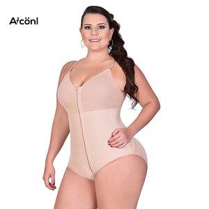 Image 5 - Shapewear נשים בגד גוף דוגמנות רצועת הרזיה מחוכי בקרת הלבשה תחתונה גוף shaper התחת מרים מתקנת תחתונים סקסי