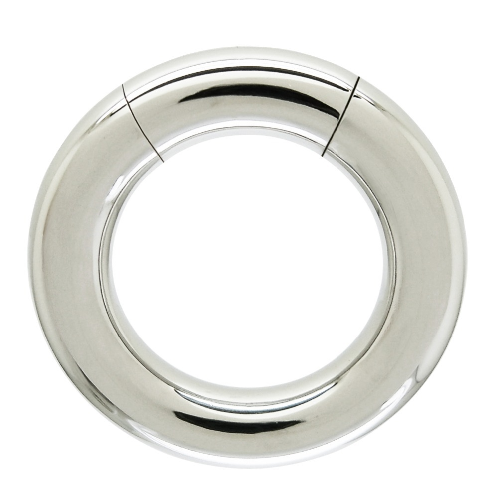 6mm X 19mm Surgical Steel Body Piercing Segment Ring Male