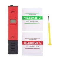 New Mini Portable Digital LCD PH Meter Tester Aquarium Pool Water Wine Monitor