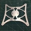 CR-10 3D фонарь принтера вес y карета построить основание плиты/опорная пластина с подогревом кровати для CR-10 части 3D принтера