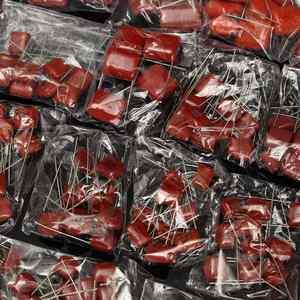 Image 2 - 200pcs Metalen Foliecondensatoren Assortiment Kit 630V 0.001uf ~ 2.2uf Hoge Frequentie 25 Waarde Passieve Component film Condensator Set