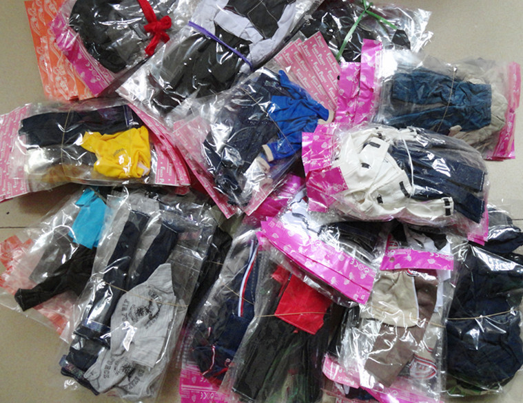 50Sets lot Best Selling Wholesale Male Dolls Denim Clothing Sets Prince Ken Casual Clothes Suits For