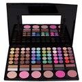 Maquillaje profesional de 78 colores paleta de sombra excelente Shimmer y mate sombra de ojos corrector gama de colores combinada