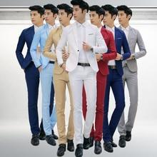 MYAZHOU костюм брюки рубашка костюм/2018 Осень Мужская мода костюм/мужская деловая Повседневная куртка + рубашка + брюки