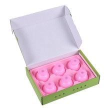 Набор силиконовых банок для похудения 6 шт/лот влагопоглощающие