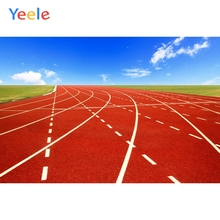 Yeele Sky Clouds Red Runaway Playground Sport Baby Photography Backgrounds Customized Photographic Backdrops for Photo Studio
