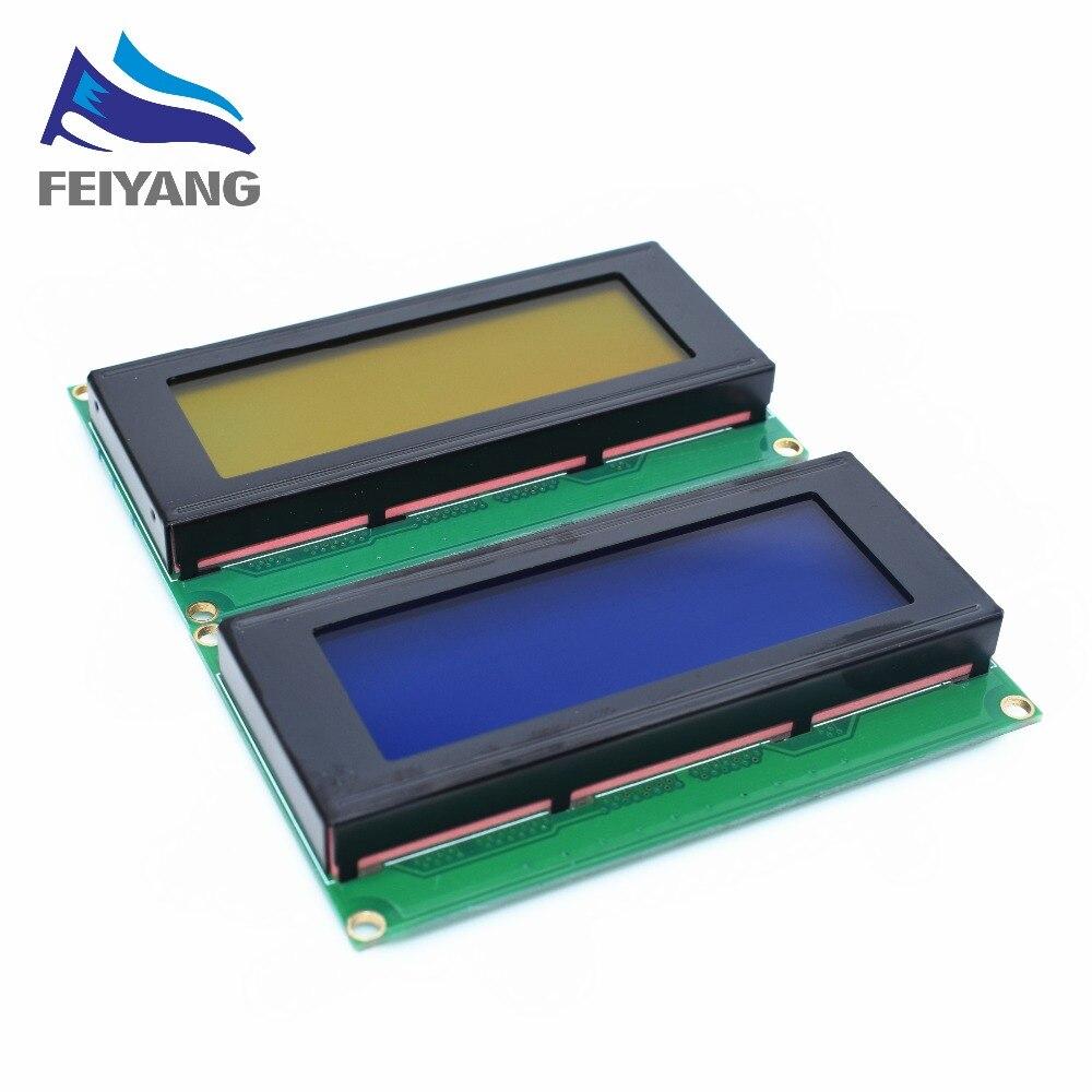 Optoelektronische Displays 1 Stücke Lcd Bord 2004 20*4 20x4 Lcd 20x4 5 V Blau Oder Gelb Bildschirm Lcd2004 Display Lcd Modul Lcd Für 3d Drucker Iic Adpater Lcd Module