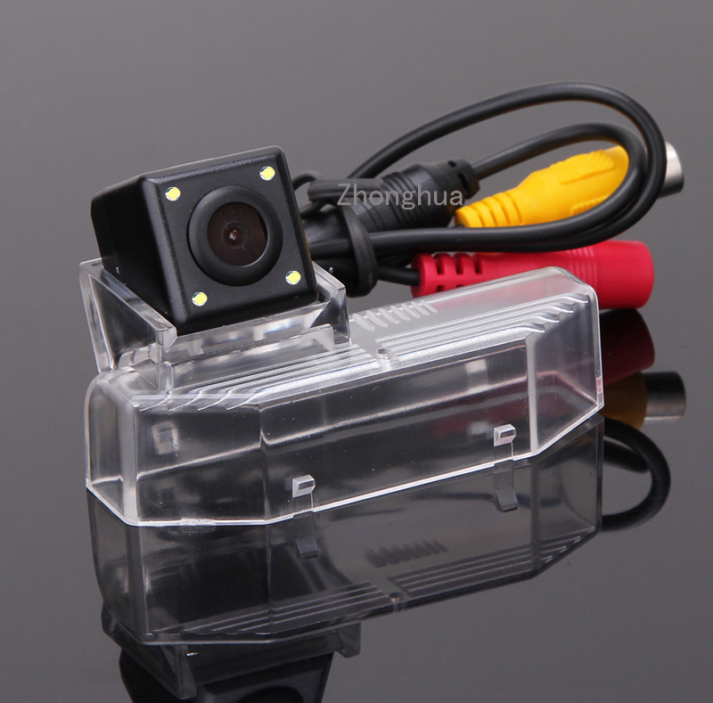 HD CCD Car Rearview Camera for Mazda 9 2009 2011 Auto Reverse Backup 170 Degree LED Light Night Vision Reversing Park Kits Free