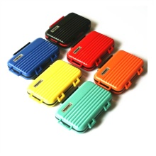 Memory Card Case Box Storage Holder SD Micro SD TF  Micro SD CF Hard Bag Waterproof suitcase shaped 4CF+8SD+12TF 24Cards