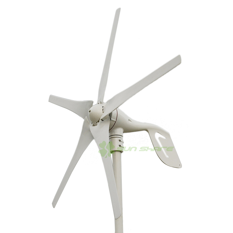 3 pieces small  Maglev. wind turbines with cheap price but high efficiency .with CE certificate ,3 years warranty maylar new 300w wind turbines wind driven generator for wind system 6 blades ce certificate 90 260vac