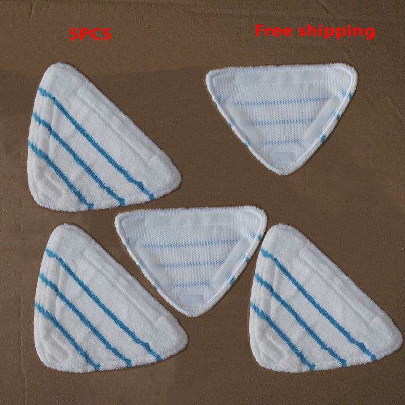 5PCS Steam Cleaner Pads,for H20 Series Quality Microfiber Steam Mop Cloths