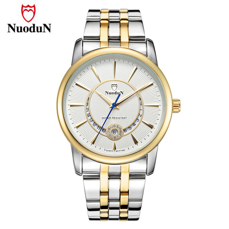 Lover's Watches Men Women Stainless Steel Top Brand Luxury Watch Gold Fashion Quartz Wristwatch Valentine's Day Gift Relogio