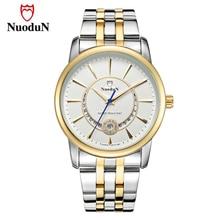 Buy Lover's Watches Men Women Stainless Steel Top Brand Luxury Watch Gold Fashion Quartz Wristwatch Valentine's Day Gift Relogio directly from merchant!