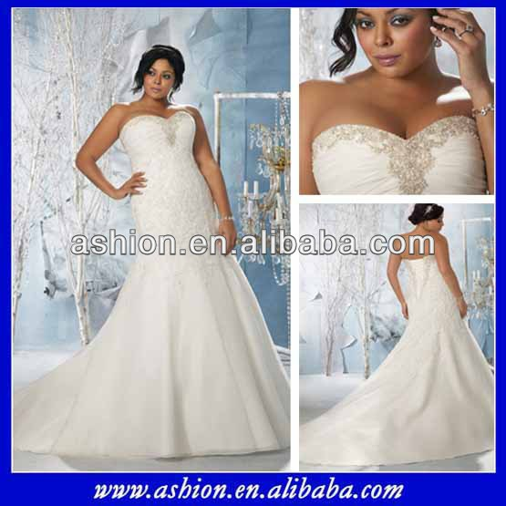 We 1835 Strapless Sweetheart Neckline Ruched Bust Fat Size Wedding Gowns For Women In Dresses From Weddings Events On Aliexpress Alibaba