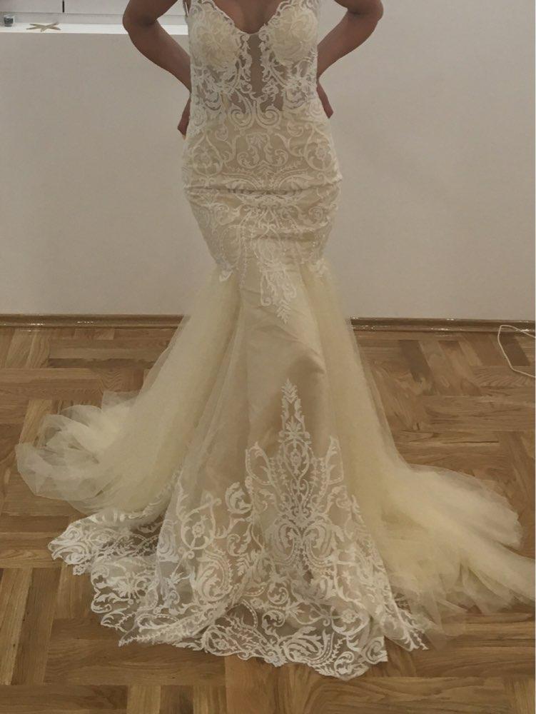 Compare prices on vintage designer wedding gowns online for Designer wedding dresses with prices