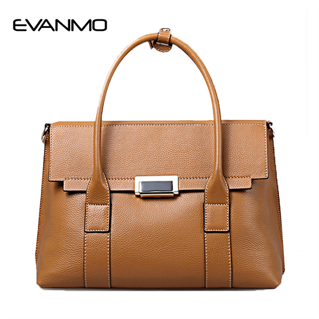 baa4c90862 Brand Women s Cowhide Leather Handbags Female Shoulder Bag Designer Luxury Lady  Tote Large Capacity Zipper Handbag for Women