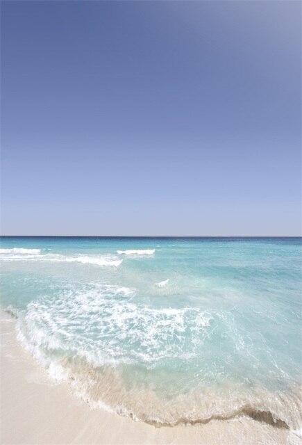 Laeacco Estate Di Sole Onde Del Mare Spiaggia Photography Scenico