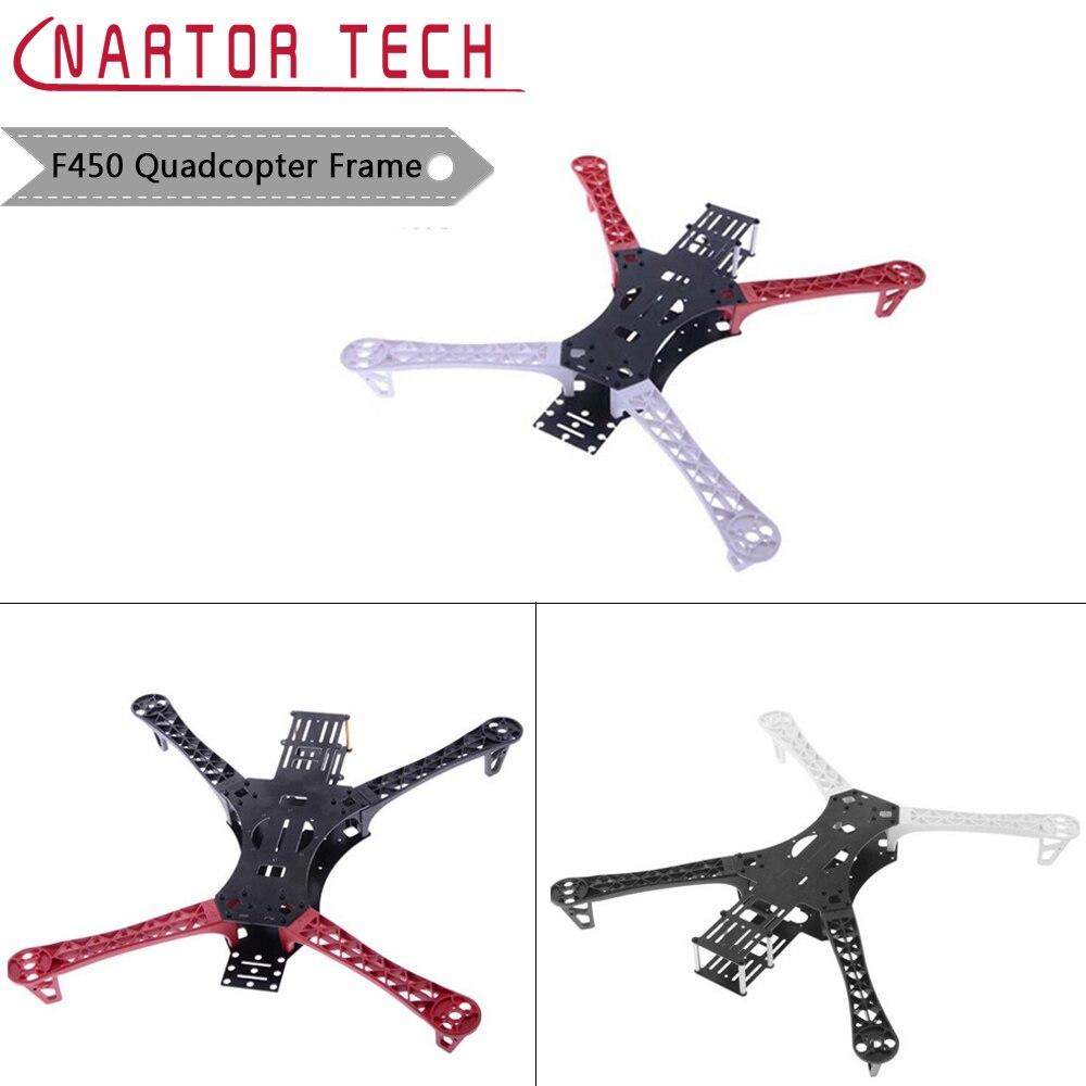 Nartor RC DIY de Alta Qualidade da Fibra do Carbono Mini FPV QAV250 e F450 Quadcopter Quadro Titular