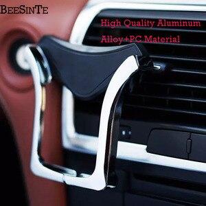 Image 5 - Soporte de teléfono de ventilación Universal para iPhone Samsung para Xiaomi redmi Huawei HTC en la ventilación del coche montaje en Bracke