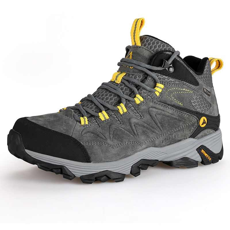 1f258b4665c HUMTTO Hiking Shoes Men Winter Outdoor Sports Climbing Shoes Non - slip  Warm Lace-up Trekking Sneakers