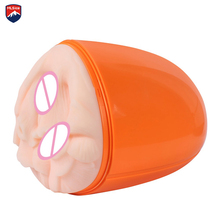 Real pussy 3 in 1 Sex Toy Male Masturbation Cup Vaginal sex toys for men real skin Anal Oral Sex Cup Male Masturbation Supplies