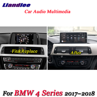 Liandlee For BMW 4 Series 2017~2018 Android Original EVO System Radio Idrive Wifi BT DVR Carplay GPS Navi Navigation Multimedia