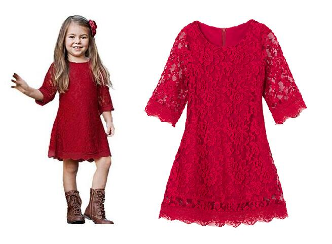 girl dress girls clothes 8 years girls lace dresses toddlers baby christmas dress children clothing infant party dress for girl berngi 2 8 years summer 100% cotton lace vest girls dress baby girl gift dress chlidren clothes kids party clothing free belt