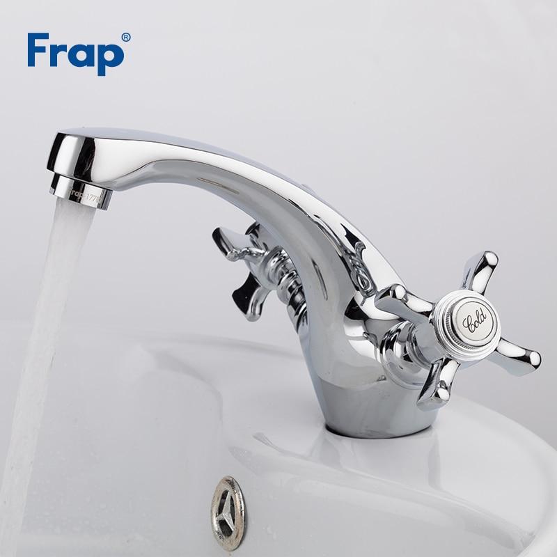Frap Becken Armaturen Messing Chrom Waschbecken Wasserhahn Bad Heisse