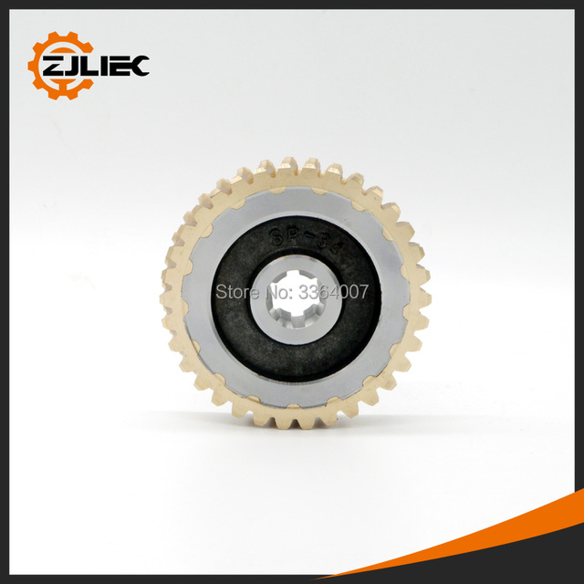 Worm Gear Fit For 49cc 52cc Earth Auger Post Hole Digger Ground
