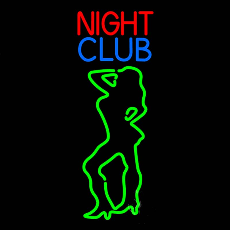 Neon Sign For Pole Dance Girl Strip Club Red Strip Girls -4271