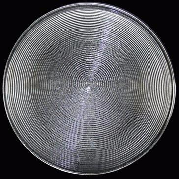 Diameter 90 Mm FL 25/30/43/50 MM PMMA  Fresnel Lens