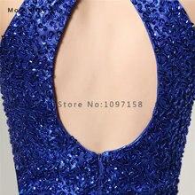 Elegant Royal Blue A-Line Short Homecoming Dresses with Beaded Bodice Girls 8th grade Graduation vestido de formatura curto