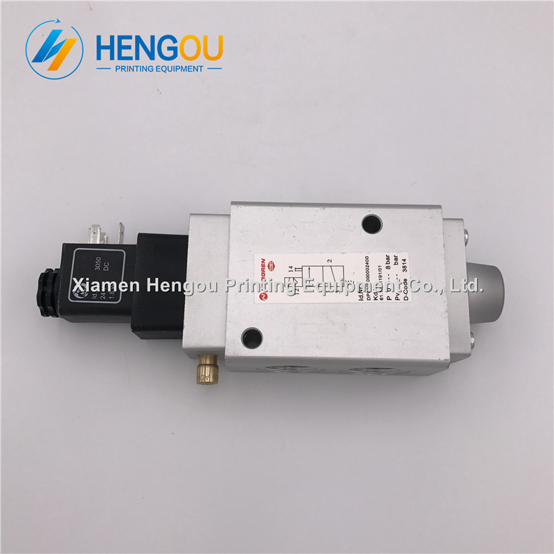 3 PIECES Hengoucn solenoid valve 61.184.1191 Hengoucn SM102 PM52 SM74 machine parts3 PIECES Hengoucn solenoid valve 61.184.1191 Hengoucn SM102 PM52 SM74 machine parts