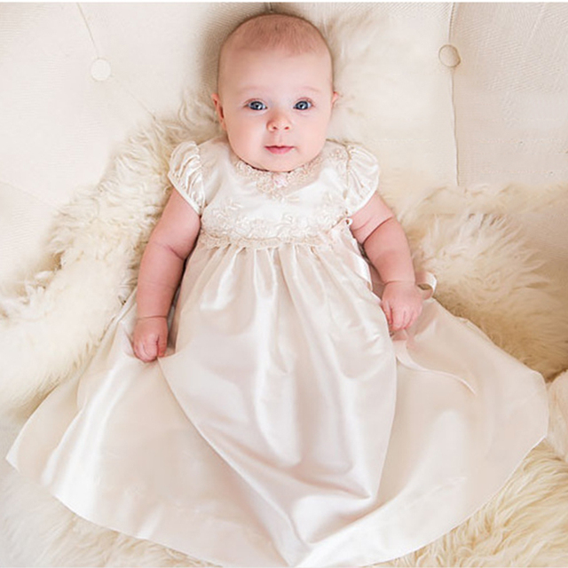 Baby Girl Birthday Dresses Outfits Infant Party Dresses With Hat For ...