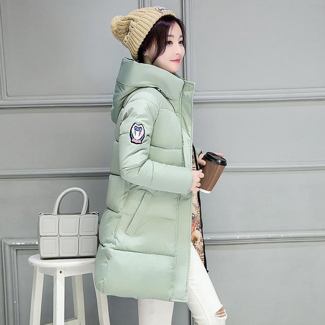 2018 New Long Parkas Female Women Winter Coat Thickening Cotton Winter Jacket Womens Outwear Parkas for Women Winter Outwear 1