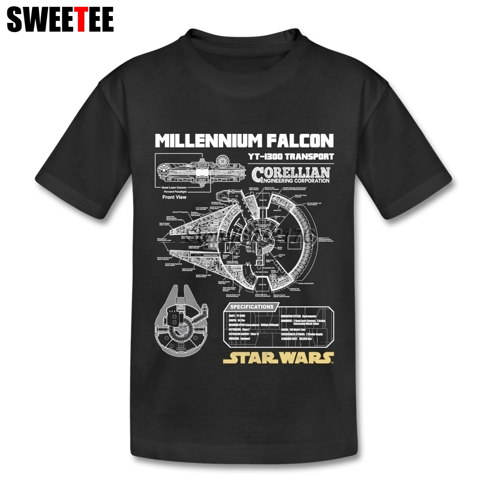 Star War Boy Girl T Shirt Baby Infant Cotton O Neck Kid Tshirt Children Clothing 2018 T-shirt For Toddler red see through lace details star round neck t shirt